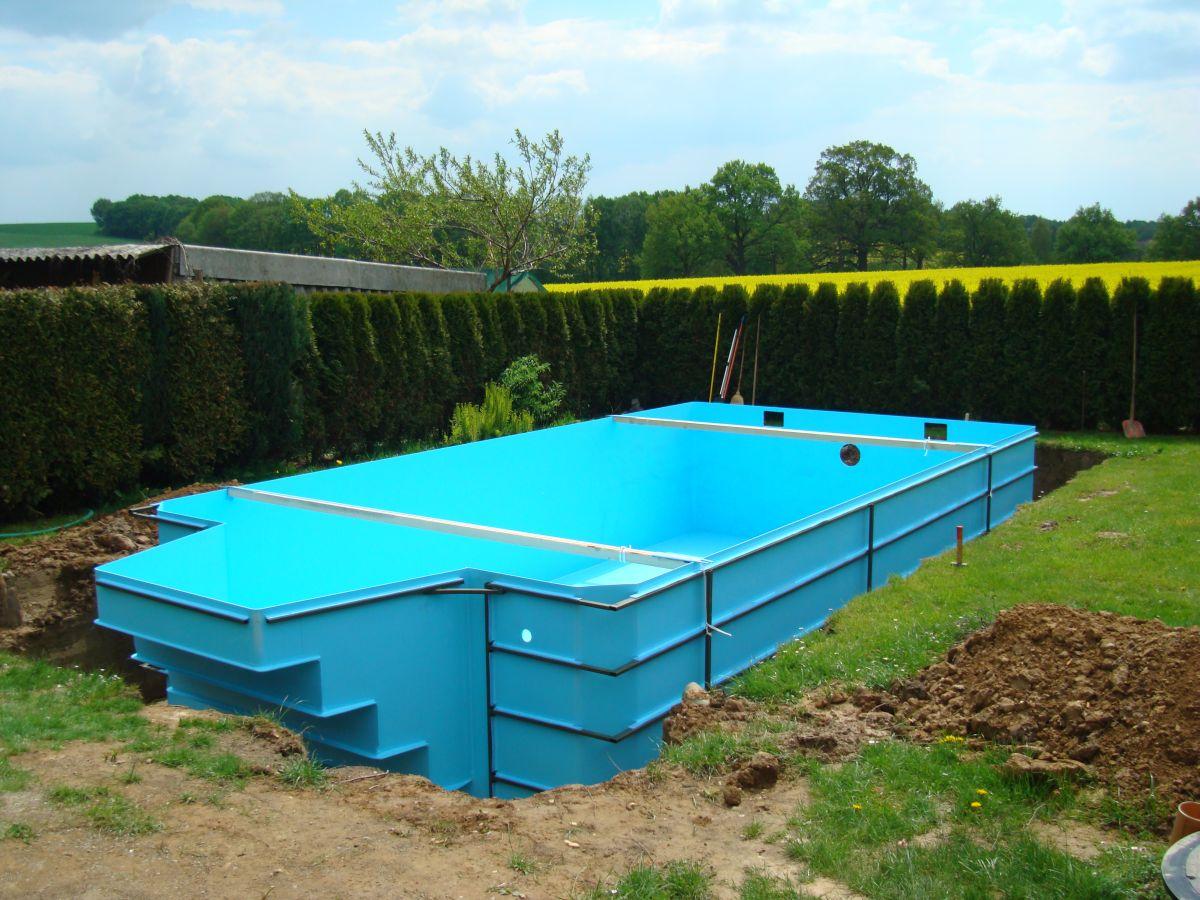 Beratung planung und komplett montage ihres schwimmbades for Fertigbecken pool